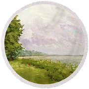 Hampton Bays Round Beach Towel