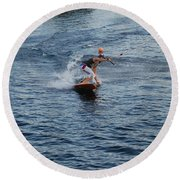 Hanging 15 Round Beach Towel