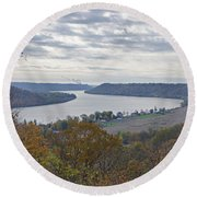 Hanover College View Round Beach Towel
