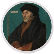 Hans Holbein The Younger Round Beach Towel
