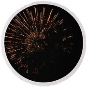 Happy 4th.from Palm Desert 1 Round Beach Towel