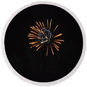 Happy 4th.from Palm Desert 2 Round Beach Towel