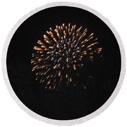 Happy 4th.from Palm Desert 3 Round Beach Towel