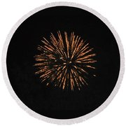 Happy 4th.from Palm Desert 4 Round Beach Towel
