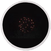 Happy 4th.from Palm Desert 5 Round Beach Towel
