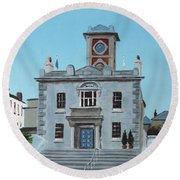 Harbourmasters Office Round Beach Towel