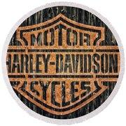 Harley - Davidson Round Beach Towel