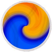 Harmony 23 Round Beach Towel