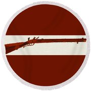 Harper's Ferry Model 1803 Rifle Round Beach Towel