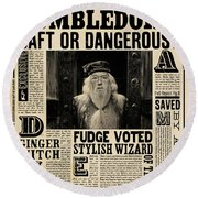 Harry Potter And The Half-blood Prince 2009 Round Beach Towel