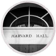 Harvard Hall Round Beach Towel