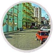 Havana-47 Round Beach Towel