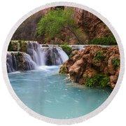 Havasu Creek Grand Canyon 15 Round Beach Towel