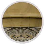 Have A Seat Round Beach Towel