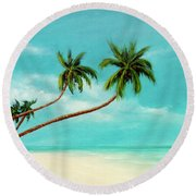 Hawaiian Prime Real Estate  #284 Round Beach Towel