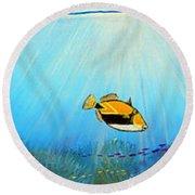 Hawaiian Sea Life Painting By Jerome Stumphauzer