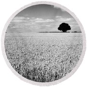 Hawksmoor Round Beach Towel by John Edwards