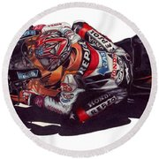 Hayden Round Beach Towel