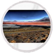 HDR Round Beach Towel