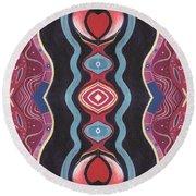 Heart Matters - T J O D 34 Arrangement 1 Round Beach Towel