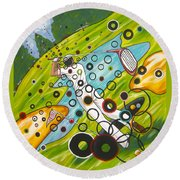 Heavenly Swing Round Beach Towel