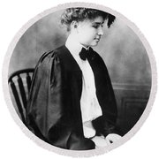 Helen Keller (1880-1968) Round Beach Towel