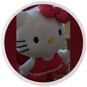 Hello Kitty Backpack Round Beach Towel