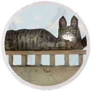 Hello Kitty Round Beach Towel
