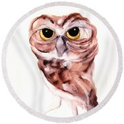 Hello There Round Beach Towel