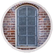 Helsingor Grilled Window Round Beach Towel
