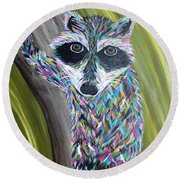Henery Round Beach Towel