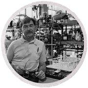 Henry Taube, Canadian-american Chemist Round Beach Towel