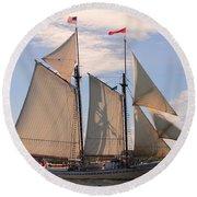 Heritage Full Sail Round Beach Towel