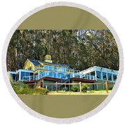 Heritage House Round Beach Towel