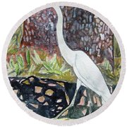 Herron Round Beach Towel