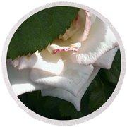Hidden Rose Round Beach Towel