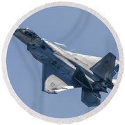 High Angle Of Attack Round Beach Towel