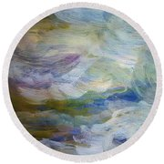 High Water Round Beach Towel