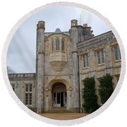 Highcliffe Castle Dorset Round Beach Towel