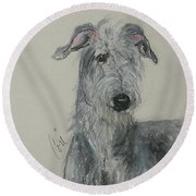Highland Hunter Round Beach Towel