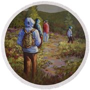 Hiking The Paintbrush Trail, Manning Provincial Park, B. C., Revisited Round Beach Towel