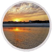 Hilton Head Beach Round Beach Towel