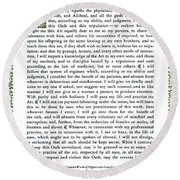Hippocratic Oath, 1938 Round Beach Towel