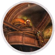 Hippodrome Theatre Balcony - Baltimore Round Beach Towel