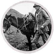 Hiram Bingham (1875-1956) Round Beach Towel