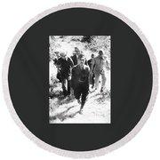 Hiro Onoda Surrendering Lubang  Philippines March 1974 Round Beach Towel