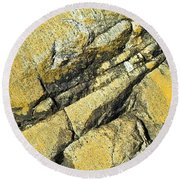 History Of Earth 2 Round Beach Towel