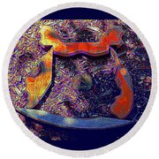 Hive Mind Sails To Improbable Realms Round Beach Towel