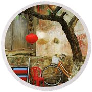 Hoi An 6 Round Beach Towel