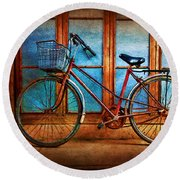 Hoi An Bike Round Beach Towel
